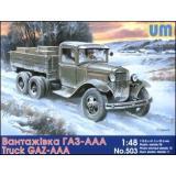 Советский грузовой автомобиль ГАЗ-ААА (UM503) Масштаб:  1:48