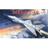 Советский истребитель Сухой T-49 (AMO72184) Масштаб:  1:72