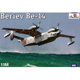 Советский спасательный самолет-амфибия Beriev Be-14 (AMO1441) Масштаб:  1:144