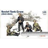 ICM35351  Soviet tank crew, 1943-1945 (Фігури)