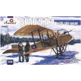 SPAD S.A.4 на лыжном шасси (AMO7273) Масштаб:  1:72
