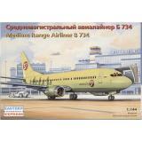 Среднемагистральный авиалайнер Боинг 734 (EE14425) Масштаб:  1:144