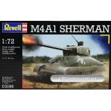 Танк M4A1 Sherman (RV03196) Масштаб:  1:72