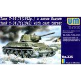 Танк T-34-76 с литой башней (UM325) Масштаб:  1:72