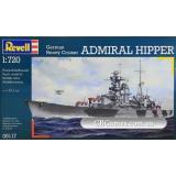 Тяжелый крейсер Admiral Hipper (RV05117) Масштаб:  1:720