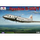 Транспортный самолет Ил-12 (AMO1444) Масштаб:  1:144