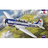 Учебно-тренировочный самолет Як-18А (AMO72218) Масштаб:  1:72