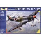 Английский истребитель Спитфайр Mk. IXC (RV04554) Масштаб:  1:48
