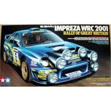 Автомобиль Субару Импреза WRC 2001 / Subaru Impreza WRC 2001 (TAM24250) Масштаб:  1:24