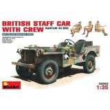 MA35050  British staff car with crew