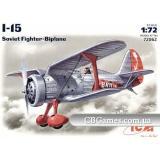 ICM72062  I-15 Soviet fighter-biplane