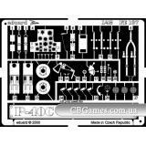 Фототравление 1/48 P-40C (рекомендовано для Academy, HobbyCraft) (EDU-FE137) Масштаб:  1:48
