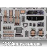 Фототравление 1/48 PC-6/AU-23A (Roden) (EDU-FE550) Масштаб:  1:48