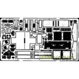 Фототравление 1/72 SR-71A Blackbird (Academy / Minicraft) (EDU-72257) Масштаб:  1:72