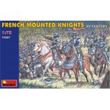 MA72007  French mounted knights XV century (Фігури)