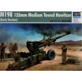 Гаубица M198 155mm  (ранняя версия) 9.1 (TR02306) Масштаб:  1:35