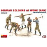 MA35065  German soldiers at work (RAD) (Фігури)