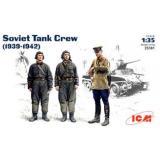 ICM35181  Soviet tank crew, 1939-1942 (Фігури)