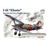 ICM72061  I-15 Spainish fighter-biplane