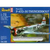 Истребитель-бомбардировщик P-47D (RV04155) Масштаб:  1:72