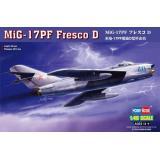 Истребитель МиГ-17 Fresco D (HB80336) Масштаб:  1:48