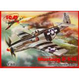 ICM48154  Mustang P-51K WWII USAF fighter