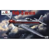 Як-3 с двигателем ВК-107А (AMO72105) Масштаб:  1:72