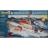 Корабль DGzRS Hermann Marwede (RV05812) Масштаб:  1:200