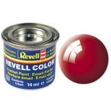 Краска Revell эмалевая, № 31 (огненно-красная глянцевая) (RV32131)