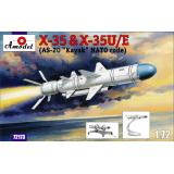 Крылатая ракета Kh-35 & Kh-35U/E (AS-20 Kayak) (AMO72173) Масштаб:  1:72