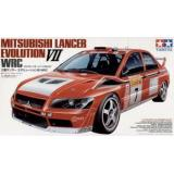 Модель автомобиля Mitsubishi Lancer Evolution VII WRC в масштабе (TAM24257) Масштаб:  1:24