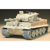 Модель немецкого танка Tiger I поздняя версия для склеивания (TAM35146) Масштаб:  1:35