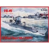 ICMS010  U-Boat Type IIB (1943) German submarine