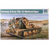 Немецкая САУ 8.8cm PAK-43 Waffentrager (TR05550) Масштаб:  1:35