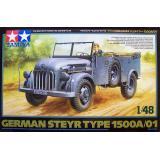 Немецкий автомобиль Steyr Type 1500A/01 (TAM32549) Масштаб:  1:48