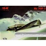 ICM72232  Heinkel He 70F-2 German reconnaissance plane