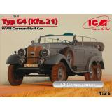 ICM35538  Typ G4 (Kfz.21) WWII German staff car