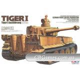 Немецкий танк Tiger I (первоначальная версия) (TAM35227) Масштаб:  1:35