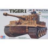 Немецкий танк Tiger I (середина производства) (TAM35194) Масштаб:  1:35