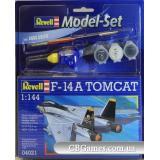 RV64021  Model Set Самолет (1972г.;США) F-14A Tomcat