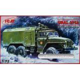 ICM72712  Ural-375D Soviet Army command truck