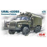 ICM72612  Ural-4320 Soviet Army command truck