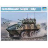 Сборная модель канадского БТР Cougar 6x6 AVGP (TR01501) Масштаб:  1:35
