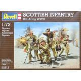 Шотландская пехота (RV02512) Масштаб:  1:72