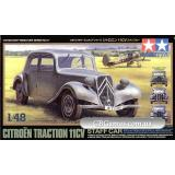 Штабная машина Citroen Traction 11CV (TAM32517) Масштаб:  1:48