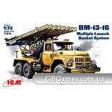 ICM72814  Zil-131 BM-13-16 Soviet rocket volley