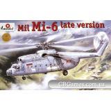 Советский вертолет Ми-6, поздняя модификация (AMO72131) Масштаб:  1:72