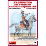 MA16035  Trumpeter. 2nd Westphalian Cuirassiers Regiment 1809