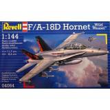 Учебно-боевой самолет F/A-18D Wild Weasel (RV04064) Масштаб:  1:144