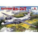 Военно-транспортный самолет Антонов Ан-24T (AMO72160) Масштаб: